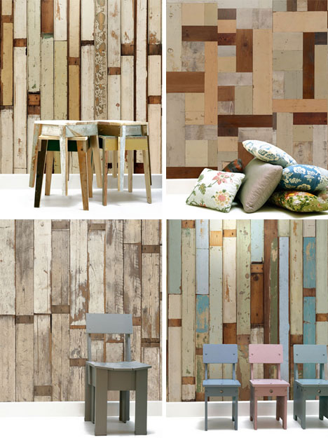 Wood Wallpaper Peeling Paint has Never Looked So Good Designs 468x625