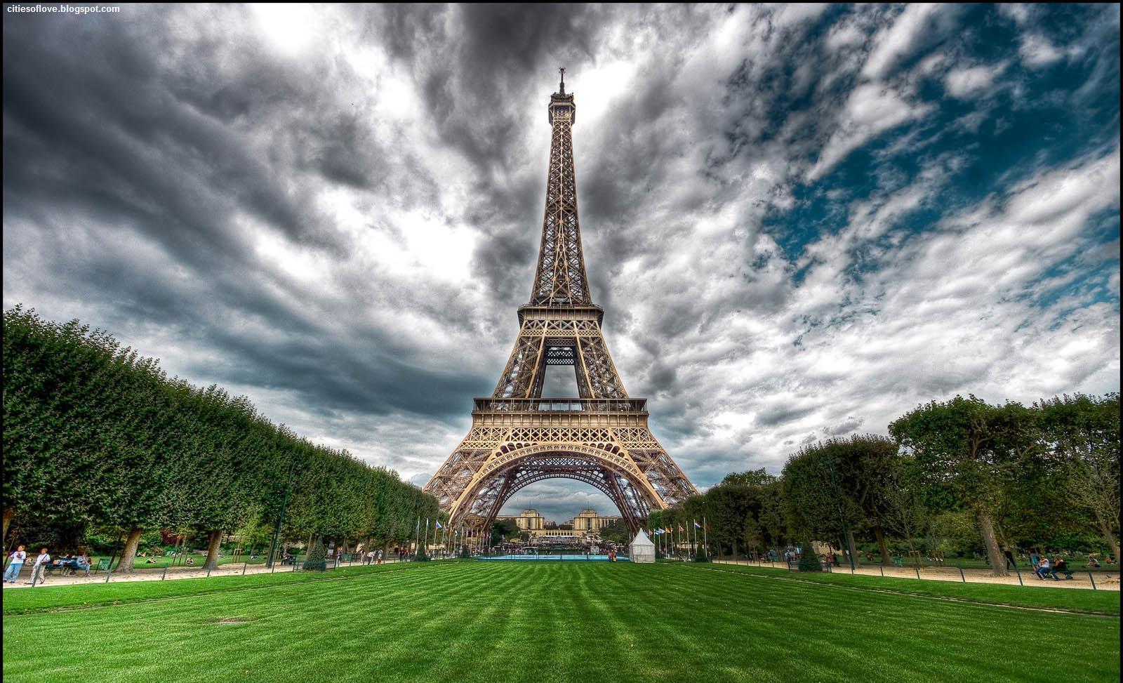 Free Paris Eiffel Tower France Wonderful And