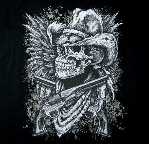 Skull And Guns Unfinished By Ifinch On Deviantart: Skulls With Hats Wallpaper