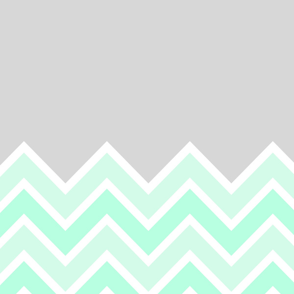 Mint And Coral Chevron Wallpaper Download