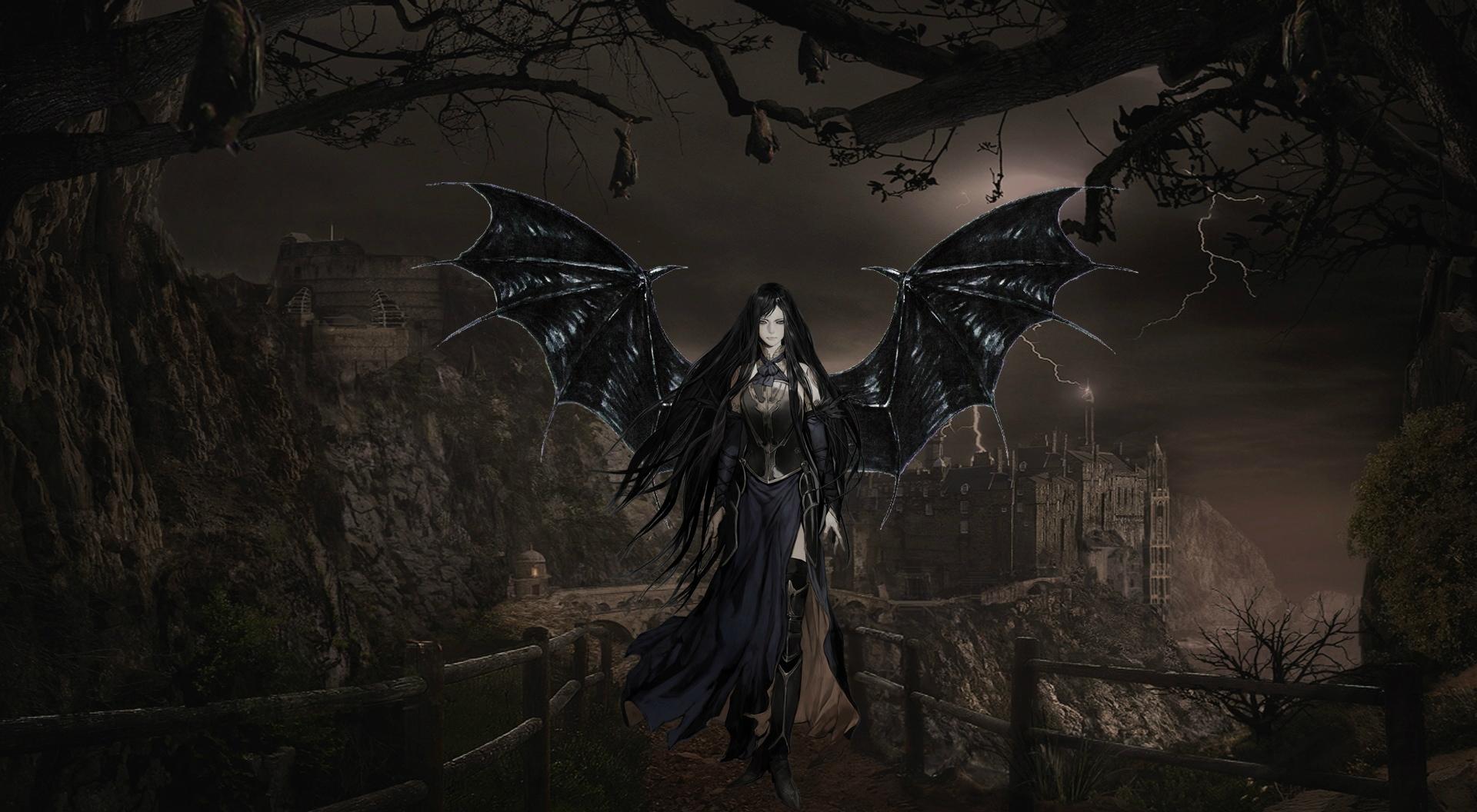 Evil Gothic Demon Wallpaper Demon wallpaper background 1920x1056