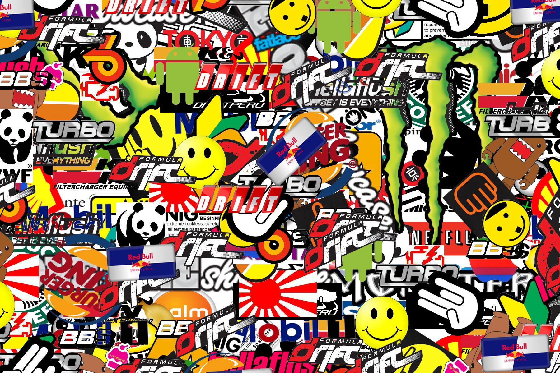 Bunch of stickers by turkiye2009 1800x1200