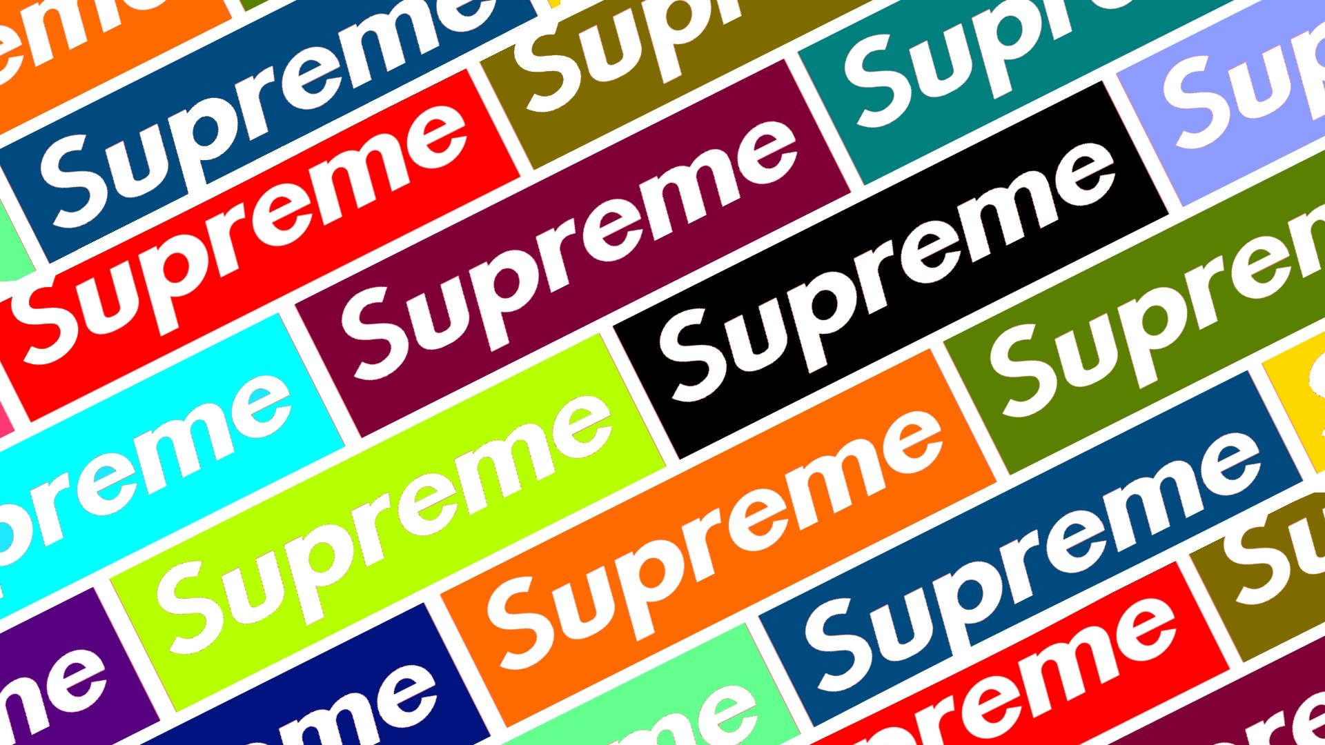 Colorfull supreme wallpaper v2 by elegantcomplex 1920x1080