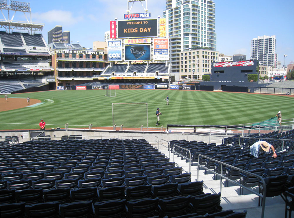 petco park right field image search results 1000x740