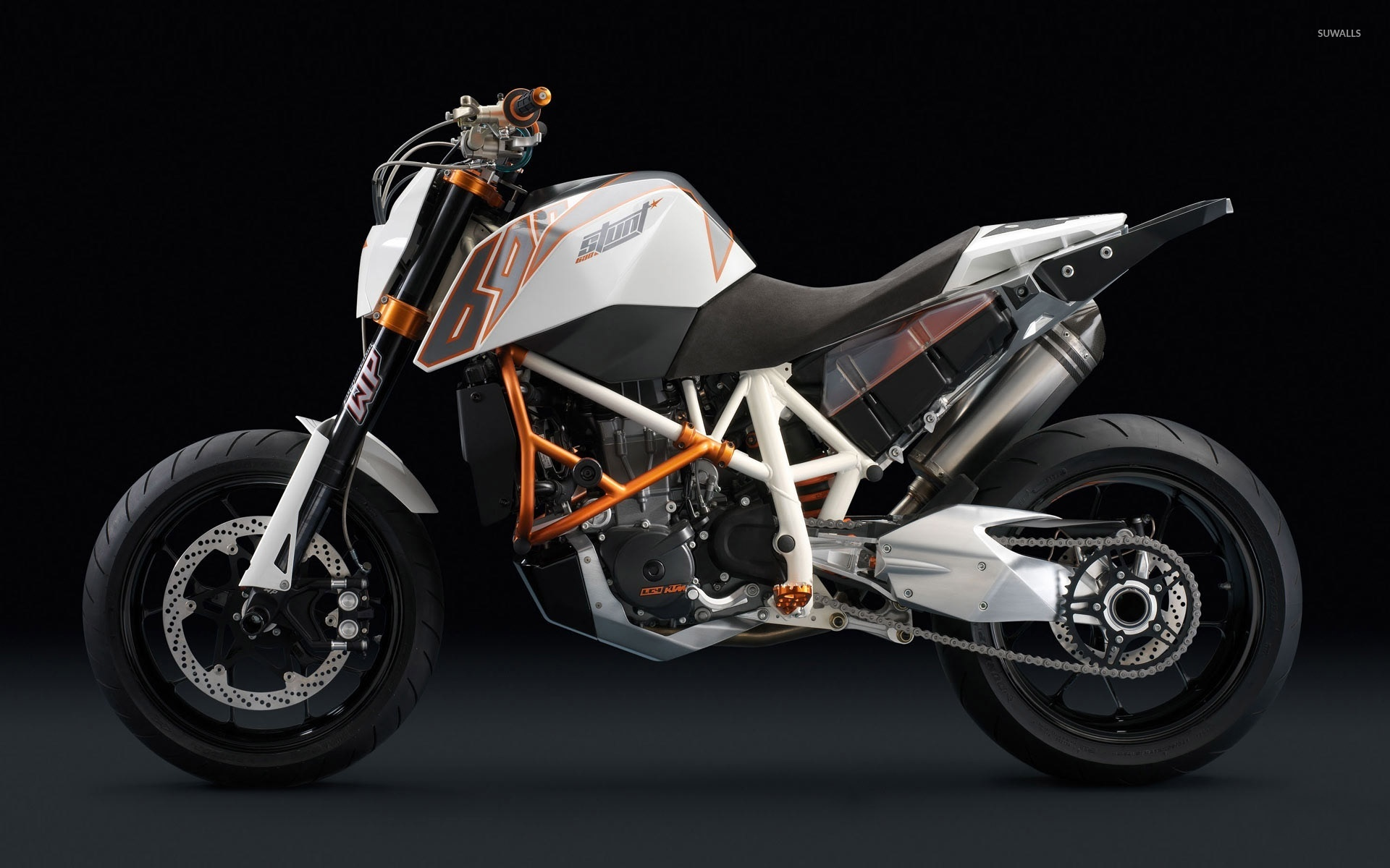 KTM 690 Duke R [2] wallpaper   Motorcycle wallpapers   24059 1920x1200