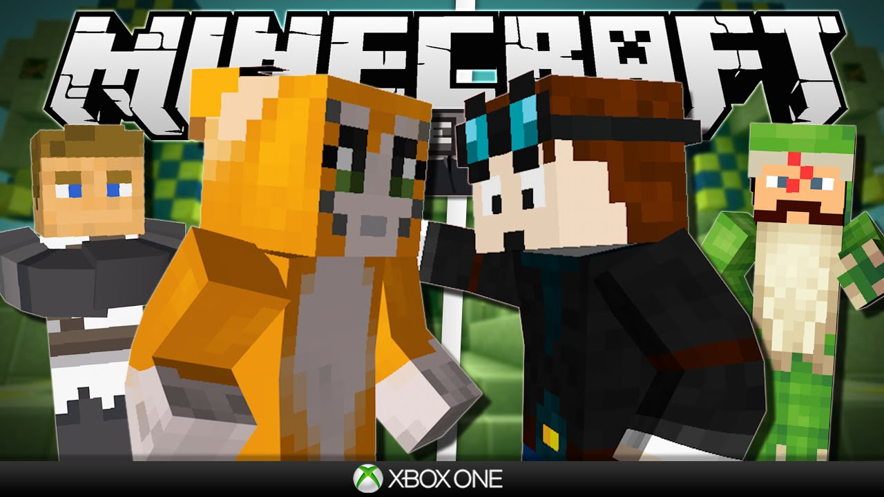 Minecraft Xbox Hunger Games vs Stampy Friends 1280x720