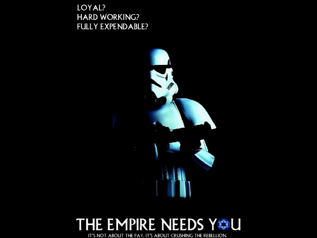 Free Download Star Wars Wallpaper The Empire Needs Youjpg