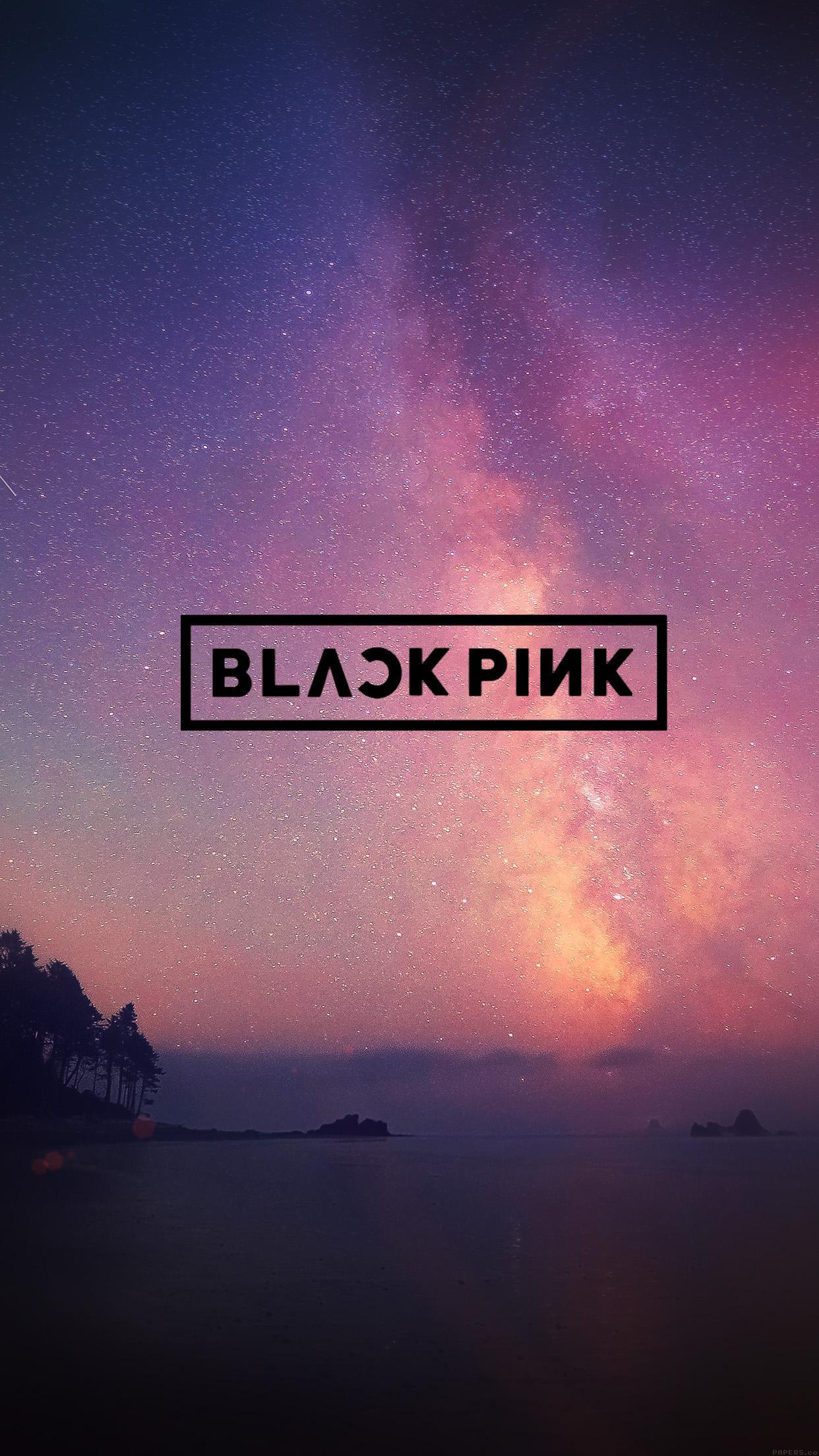BlackPink Logo Phone Wallpaper   Album on Imgur 1242x2208
