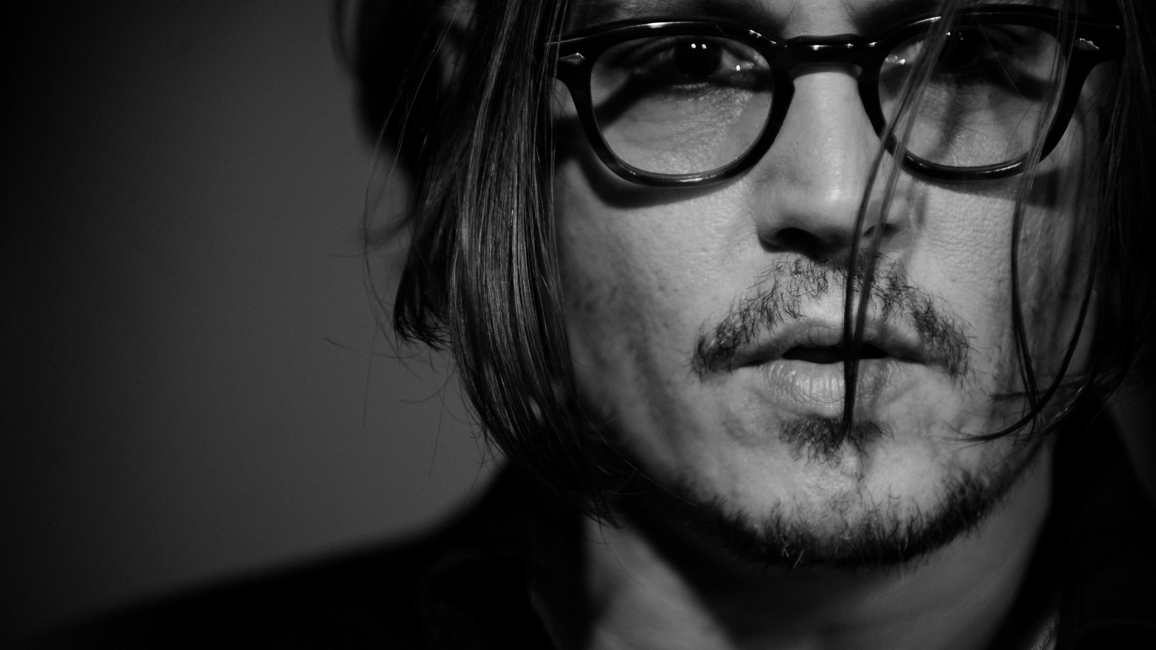 Wallpaper Johnny Depp director musician screenwriter producer 3840x2160