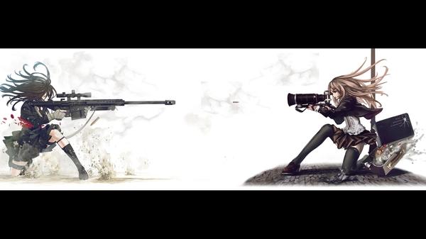 camerassnipers snipers cameras anime 1920x1080 wallpaper Cameras 600x337
