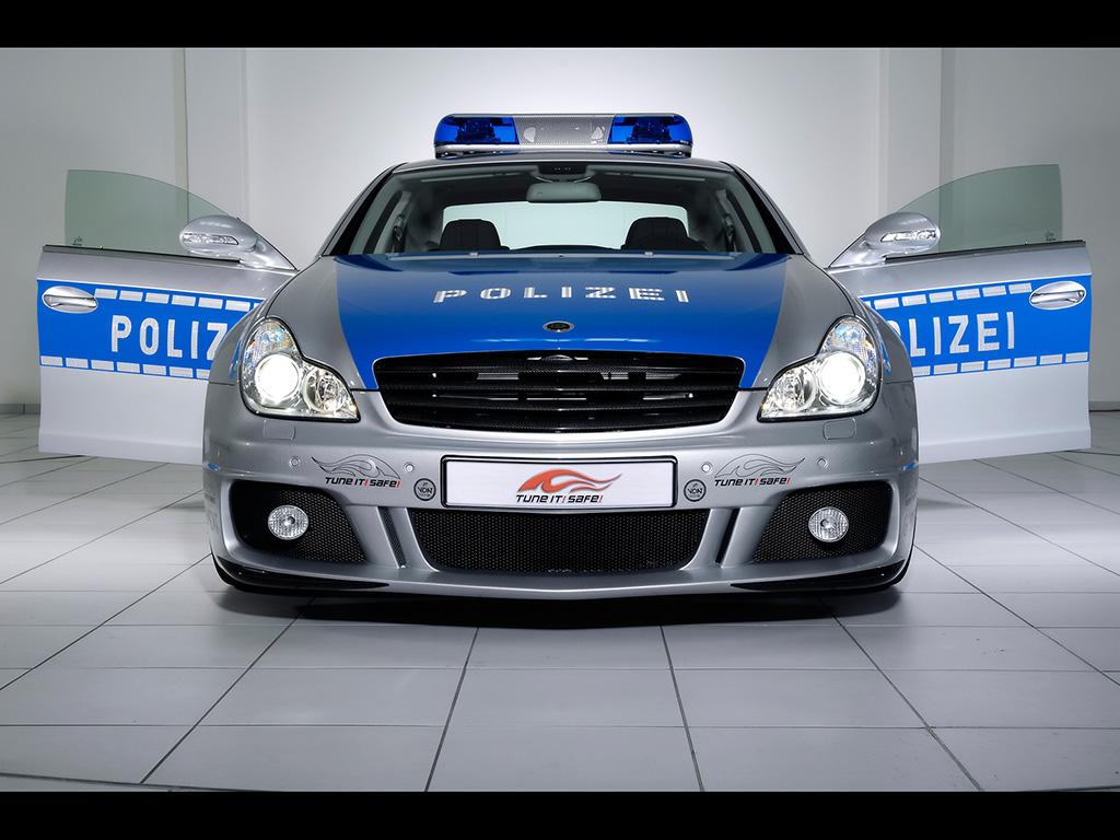 Brabus Rocket Police Car Wallpapers | Widescreen Desktop Backgrounds