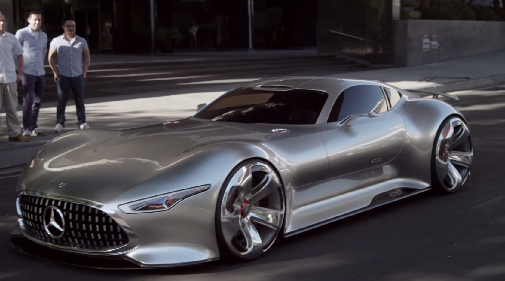 How The AMG Vision Gran Turismo Concept Came to be 1680x936
