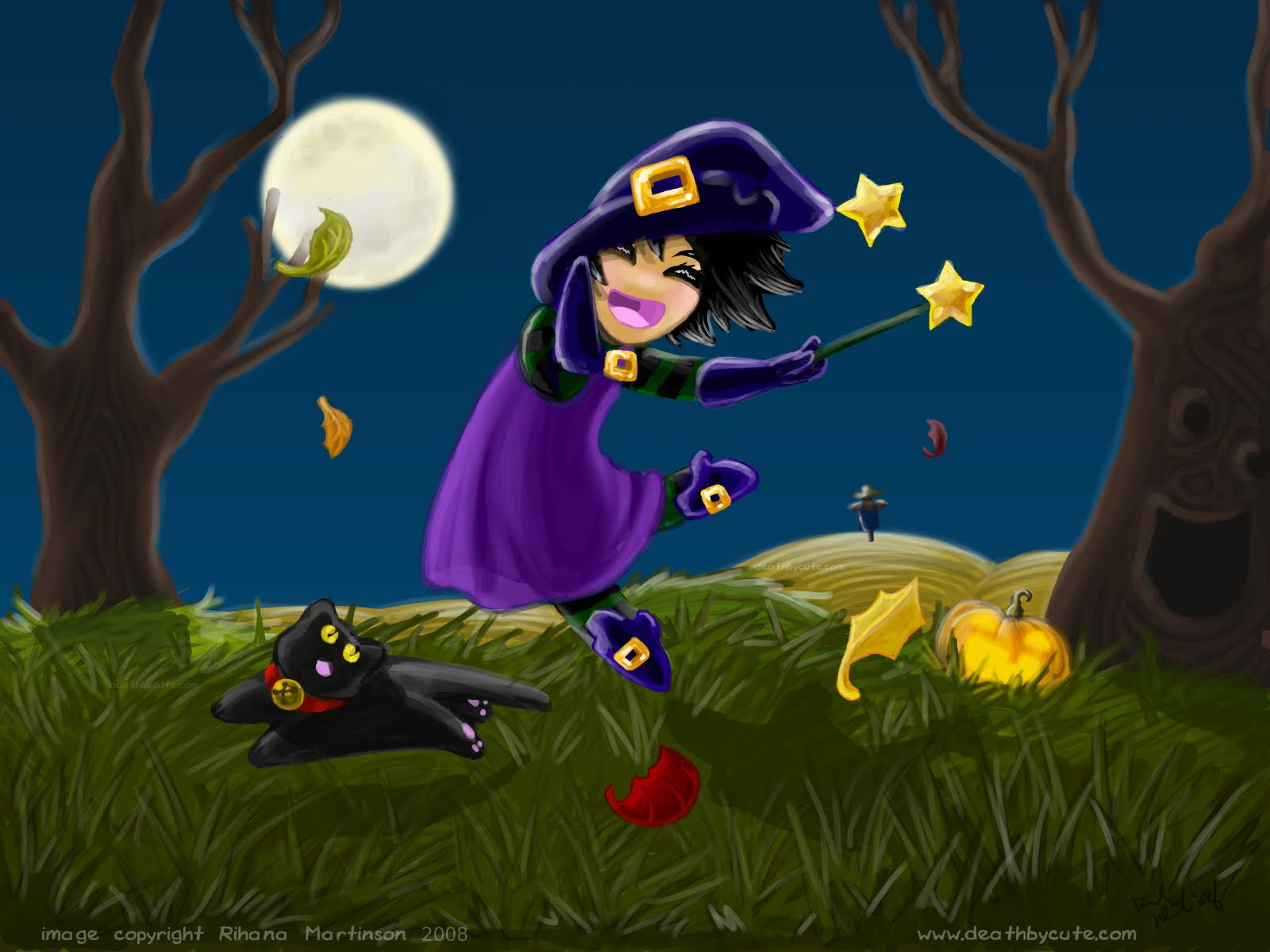 Halloween Animated With Sound Wallpapers 1600x1200