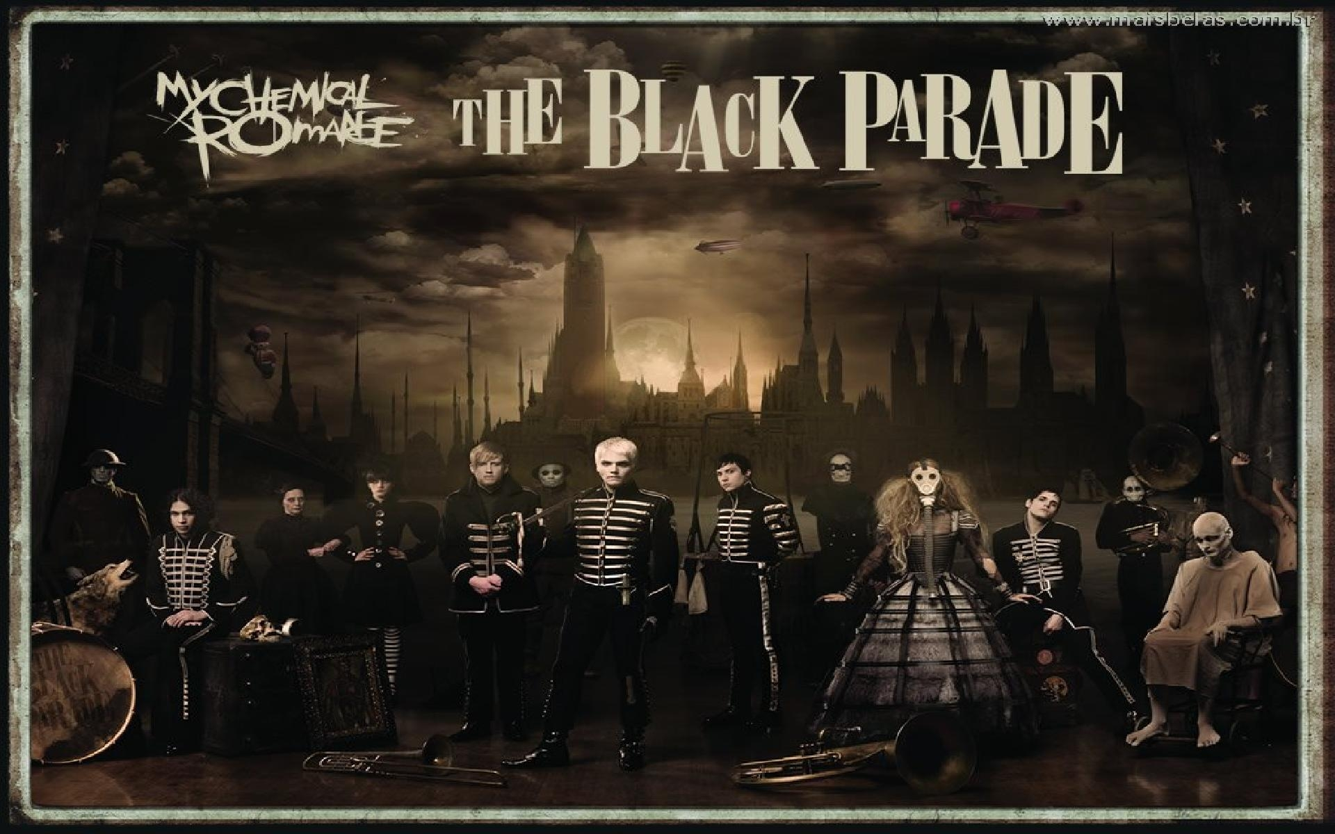 The Black Parade   My Chemical Romance Wallpaper 38539768 1920x1200