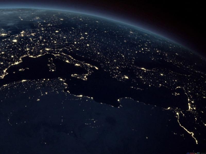 earth at nightjpg 800x600