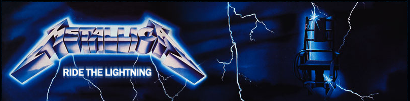 Metallica Wallpaper Ride The Lightning Ride the lightning banner by 809x199