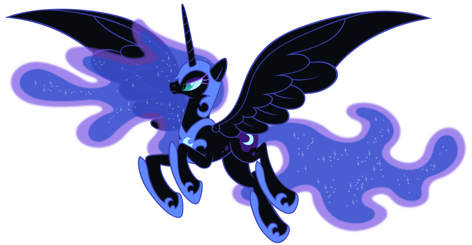 Nightmare Moon by Stabzor 1600x831