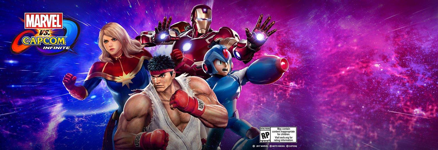 Free Download Marvel Vs Capcom Infinite Hd Wallpaper 25 1515 X 520