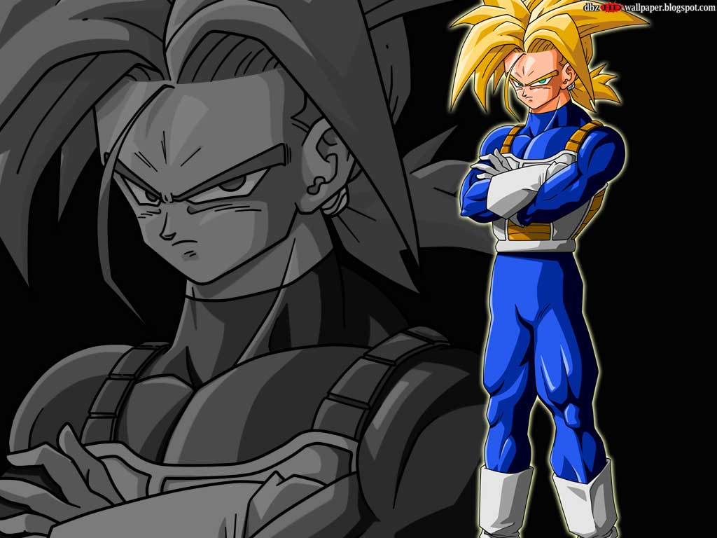 Free Download Trunks Future Super Saiyan 1 001 All About Dragon