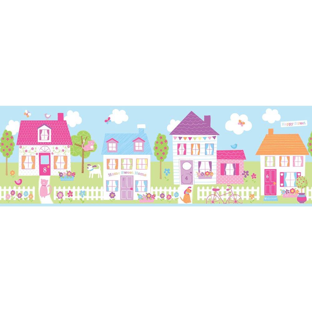 46 Wallpaper Borders For Children S Rooms On Wallpapersafari