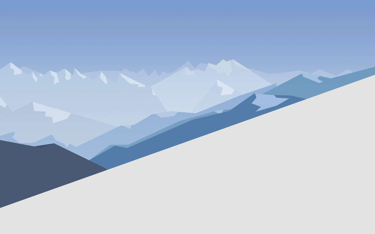 Windows 10 default wallpaper minimal by link6155 1280x800