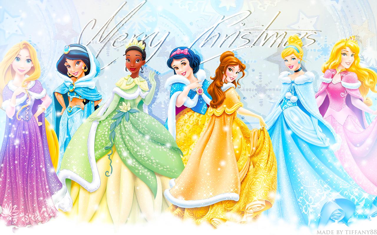 [78+] Disney Princess Christmas Wallpaper on WallpaperSafari