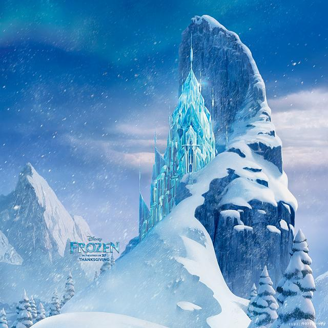 The Disney Movie Frozen Retina Wallpaper frozen icecastle 2048x2048 640x640