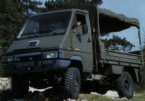 Renault Master B110 4x4 Military Truck 198087 wallpapers 575x400