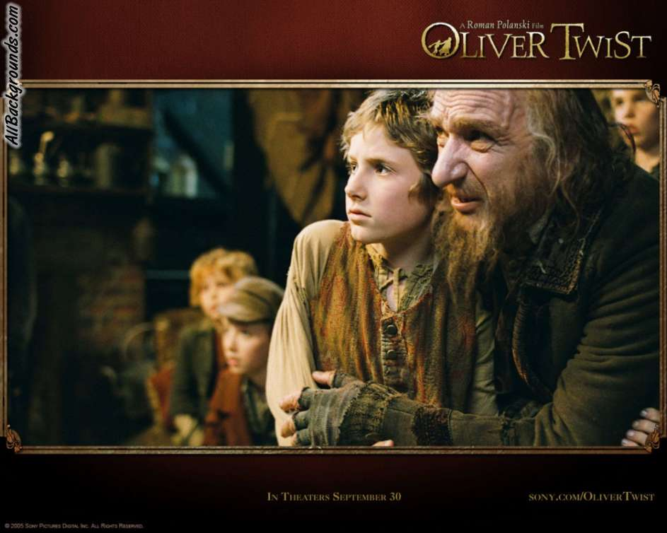 Oliver Twist Backgrounds   Twitter Myspace Backgrounds 943x754