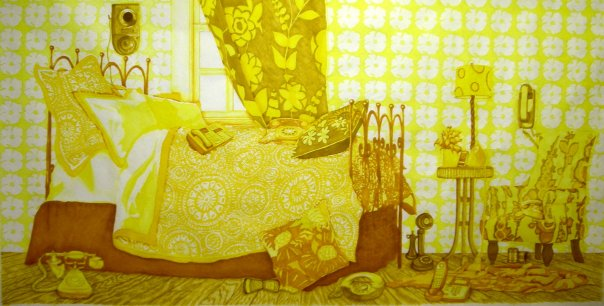 Gothicstories   Artwork  The Yellow Wallpaper 604x306