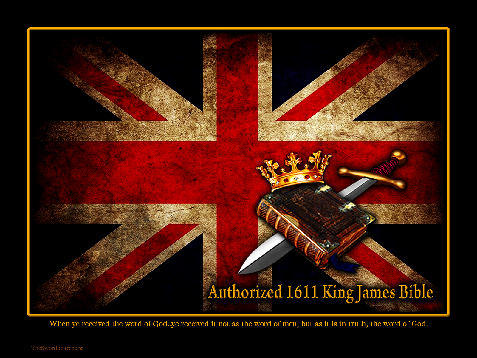 King James Bible wallpaper 1600x1200