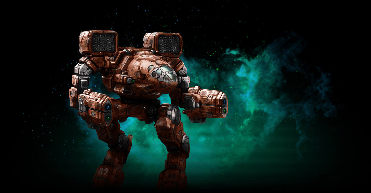 MWO Mad Cat Timber Wolf repaint by Odanan 1240x644