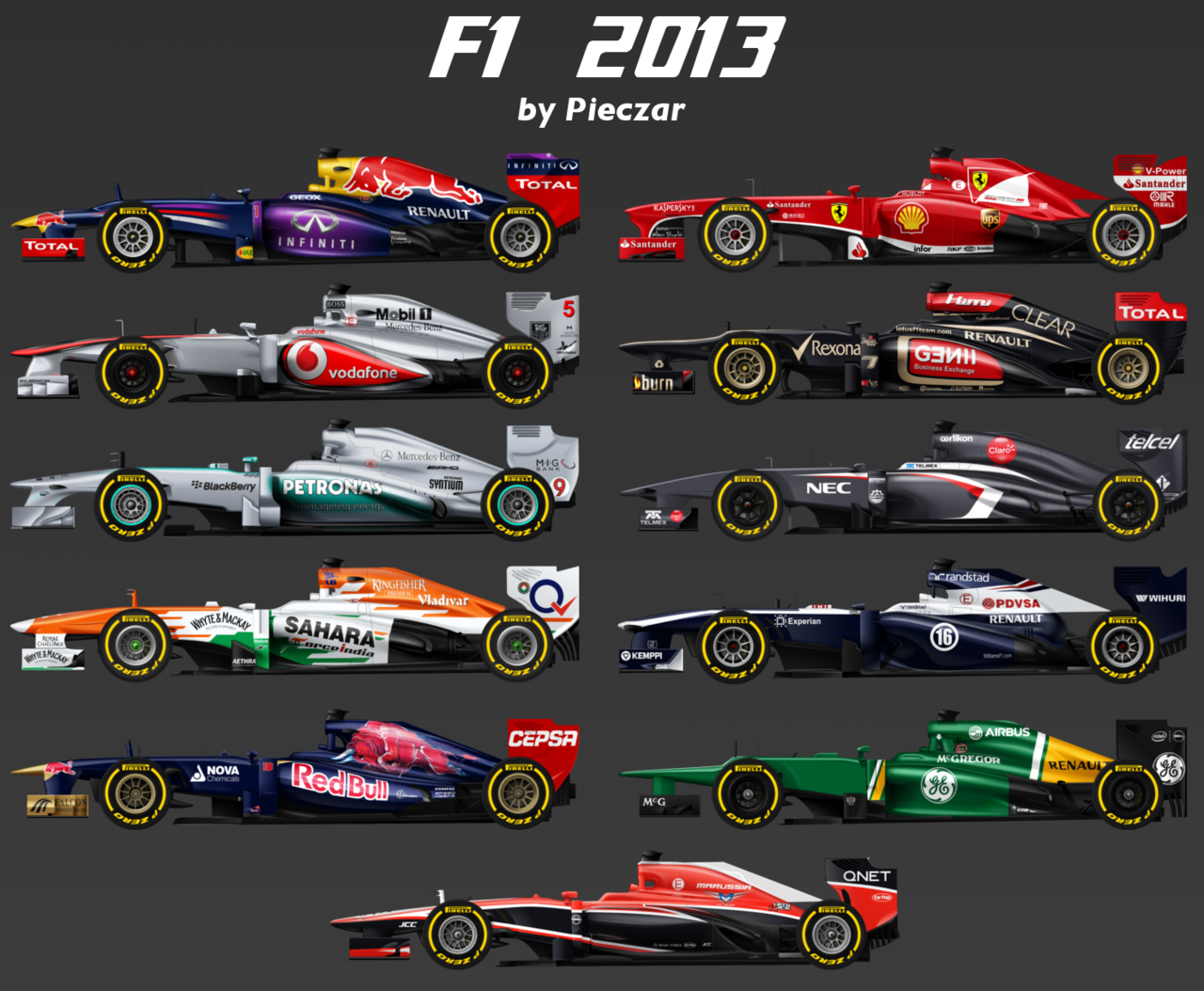 Formula 1 2013 Wallpaper HD ImageBankbiz 1280x1053