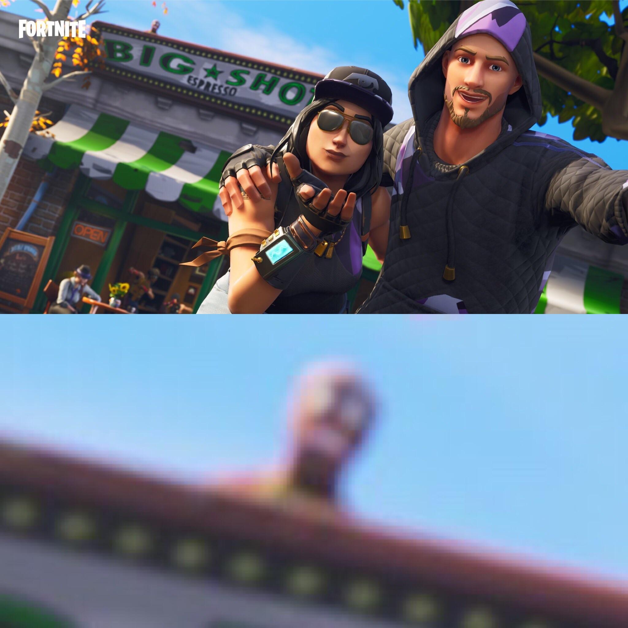 Hidden gingerbread on the new twitter post FortNiteBR 2048x2048