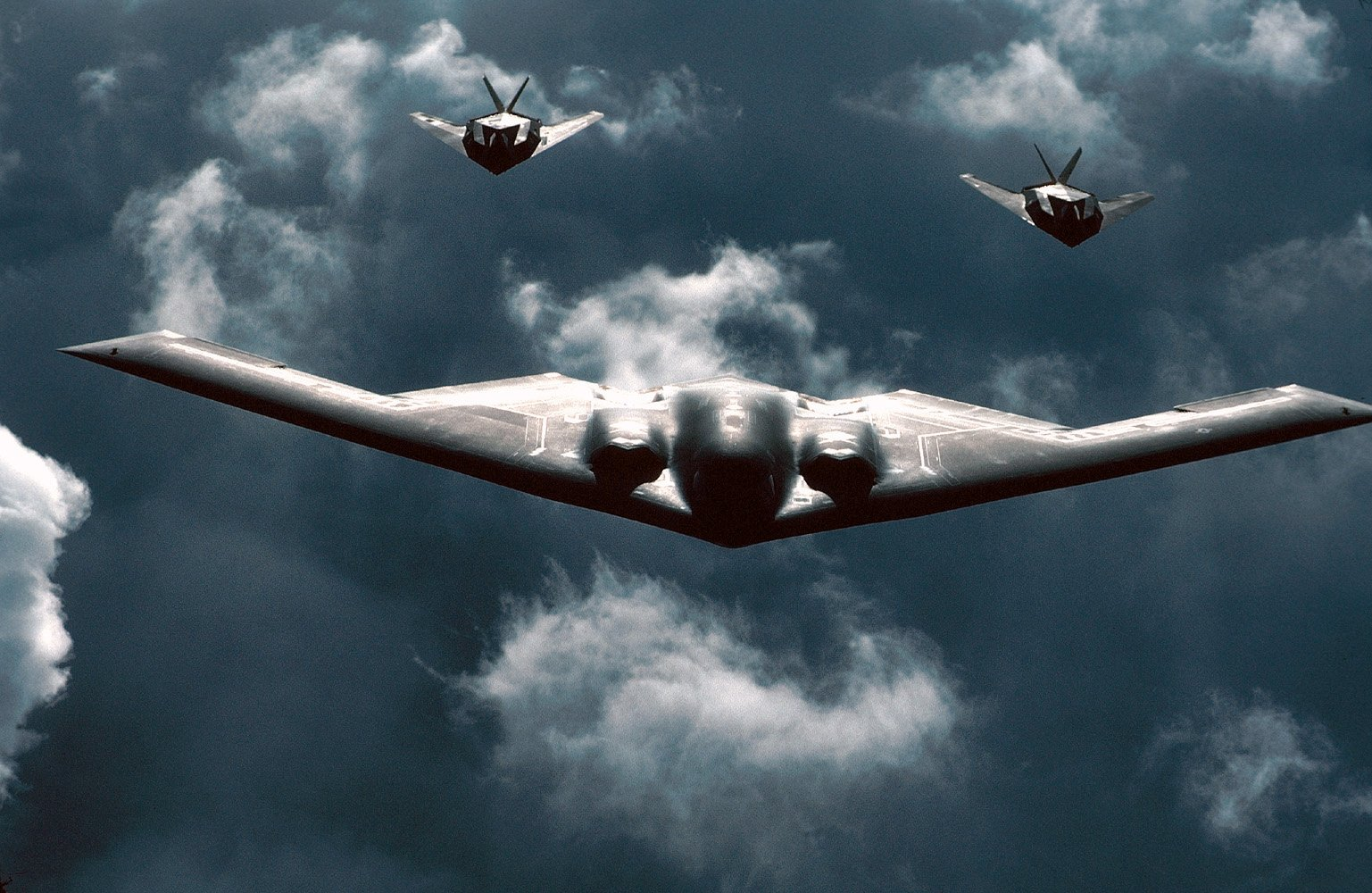 Public Domain Aircraft Images Stealth Bomber Northrop 1537x1000
