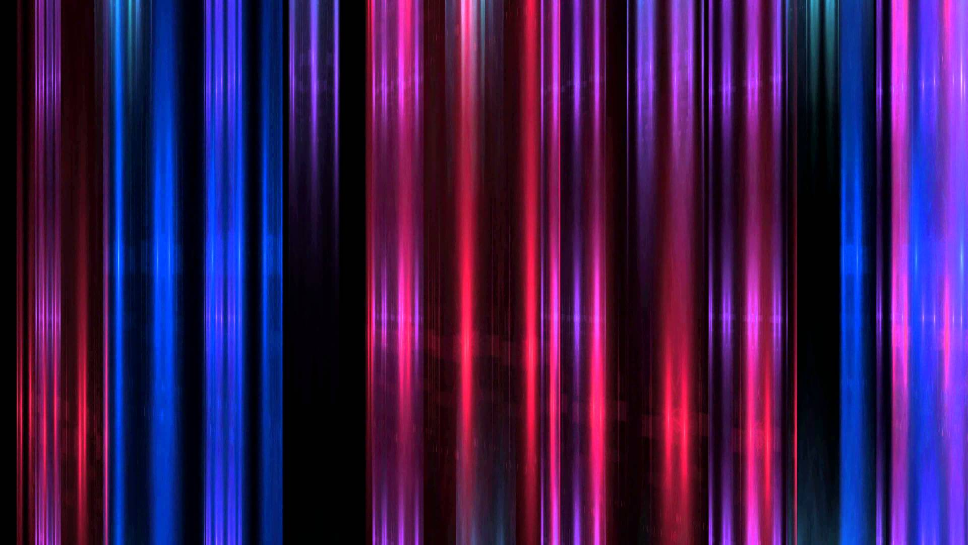 4K UHD Colorful Shining Lines Dance Animation Background 1920x1080