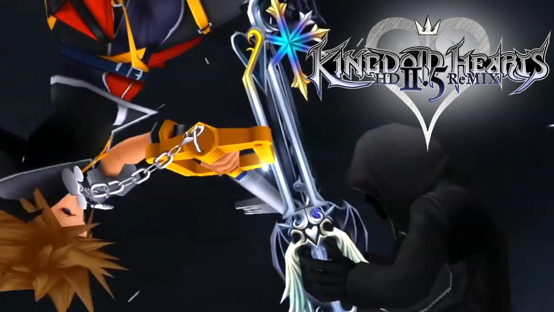 KINGDOM HEARTS HD 25 ReMIX   English Trailer HD 720p   Jump Festa 1920x1080