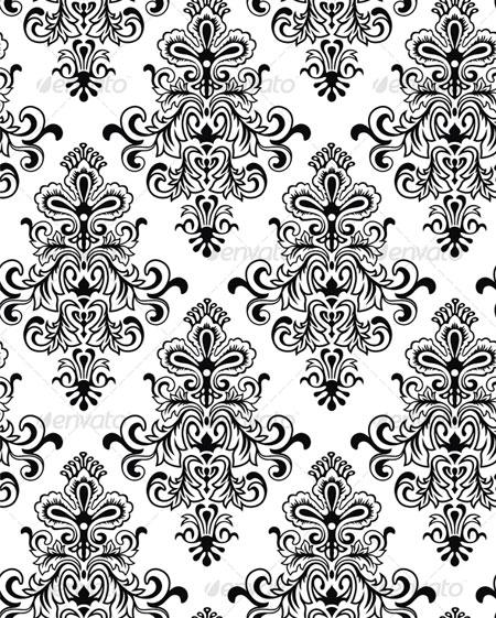 victorian wallpaper patterns Item 5 Vector Magz Download 450x561