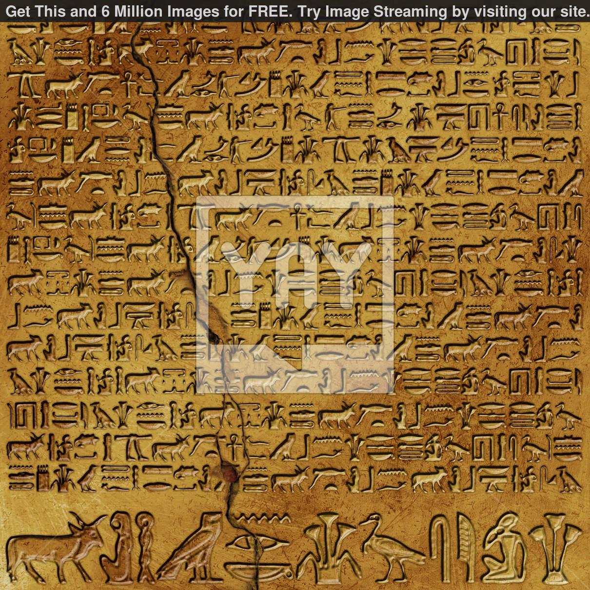 Egyptian Hieroglyphics Wallpaper 1210x1210