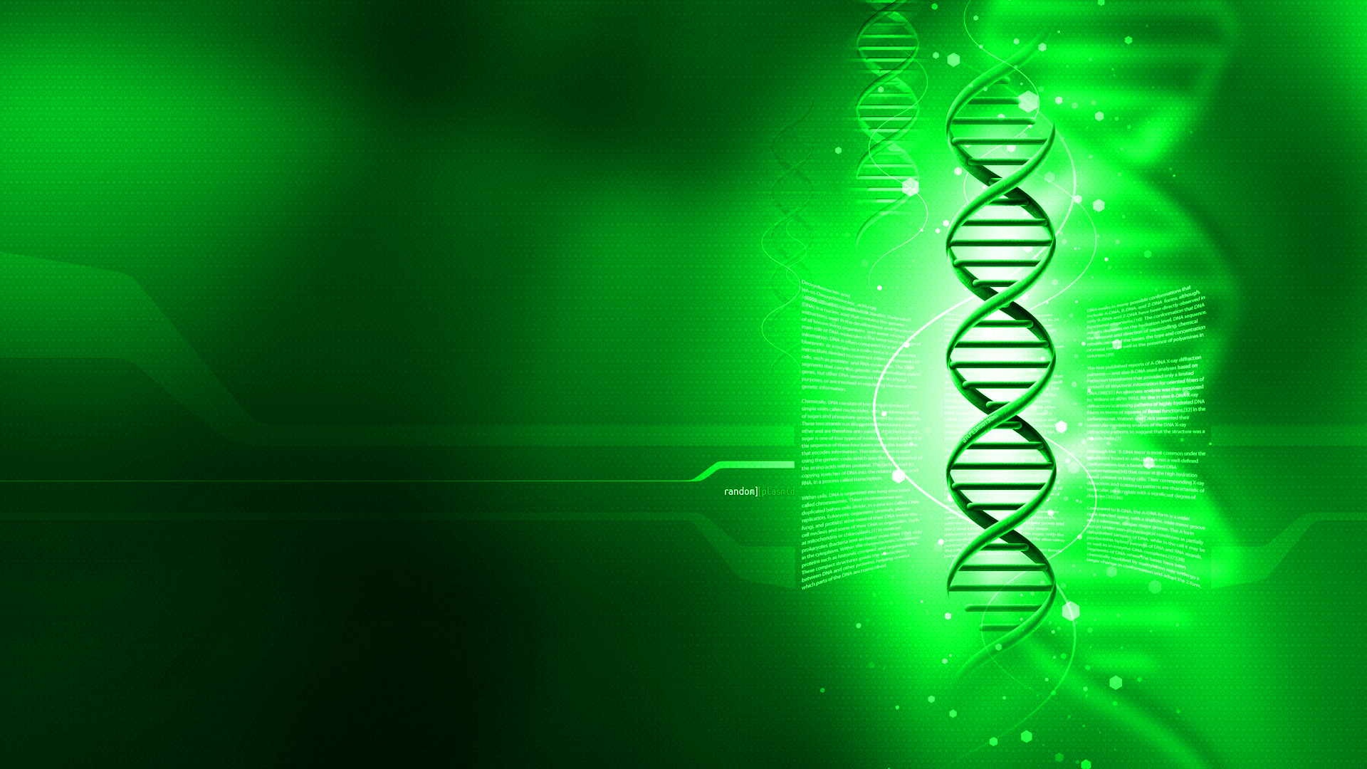 DNA Wallpaper 1920x1080 DNA 1920x1080