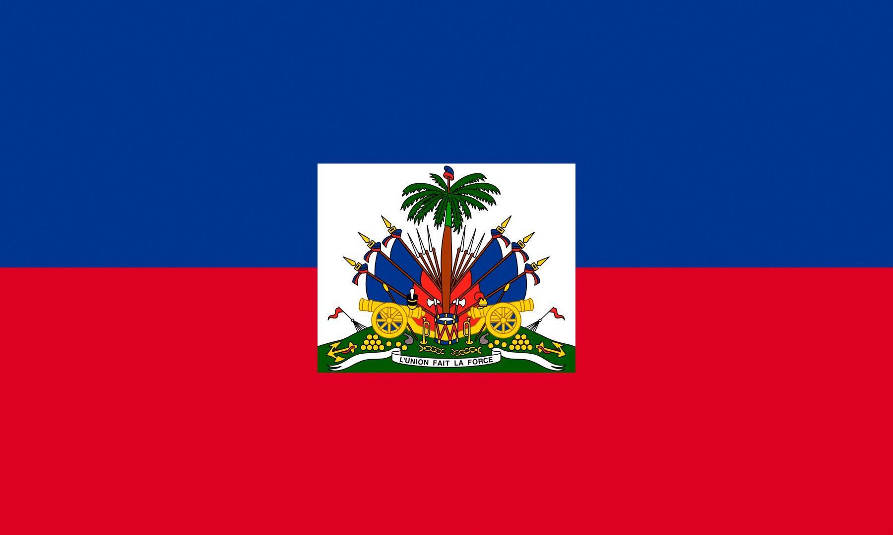 Flag of Haiti wallpaper National flag Haiti flag Haiti 1800x1080