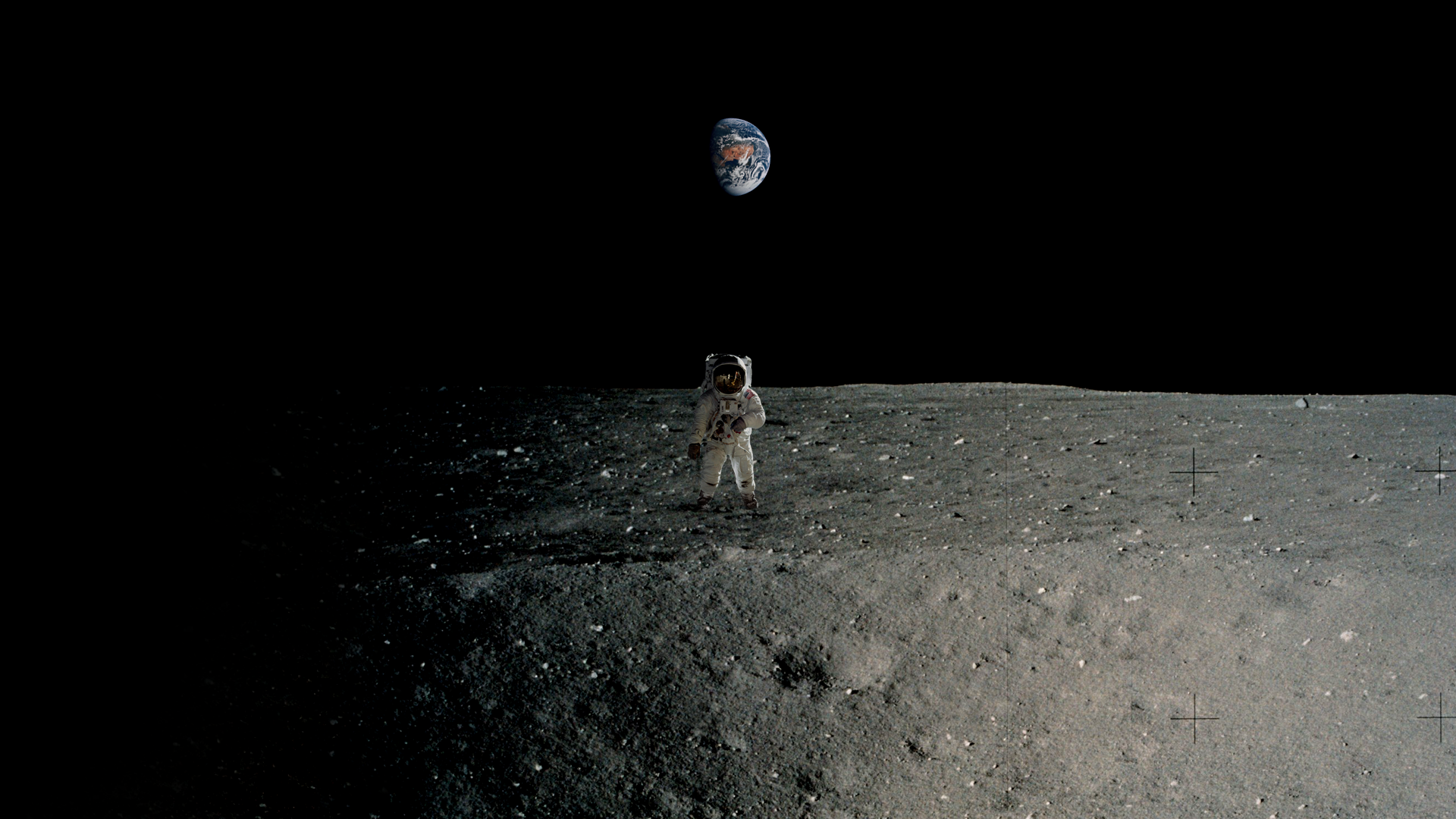 Moonwalk Wallpaper [1920X1080] apollo 1920x1080