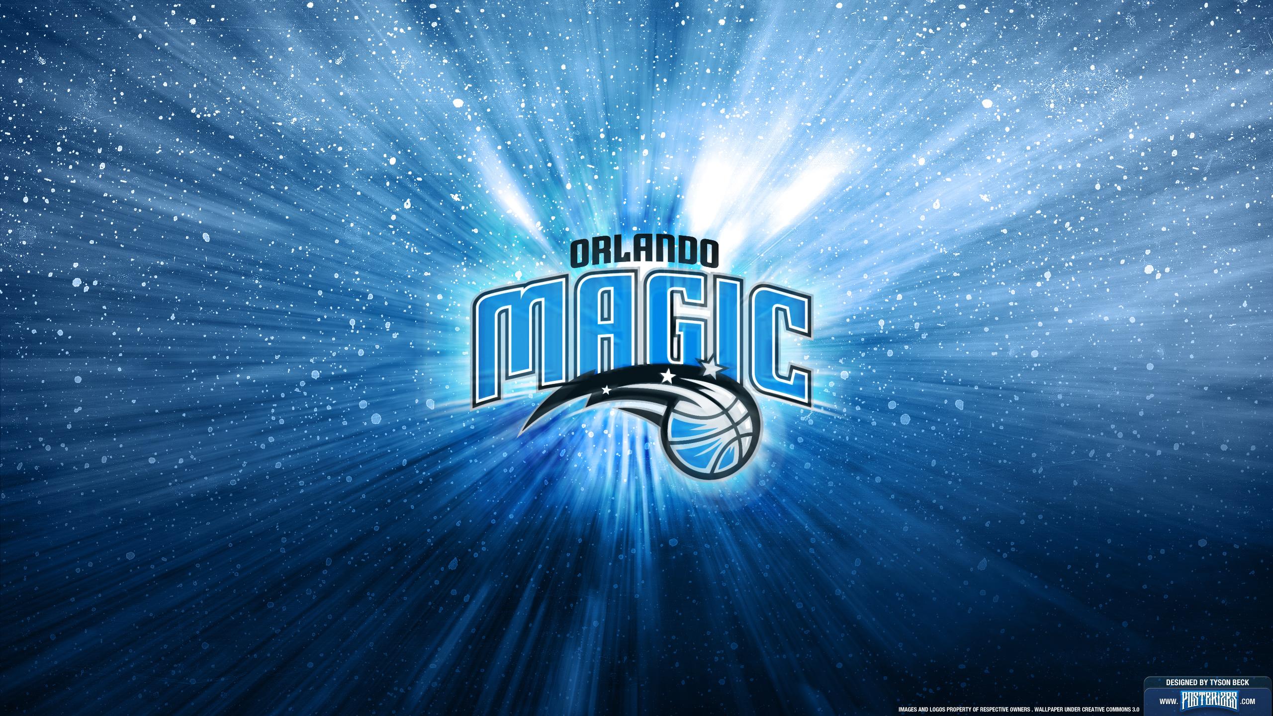 Orlando Magic Logo Wallpaper Posterizes NBA Wallpapers 2560x1440