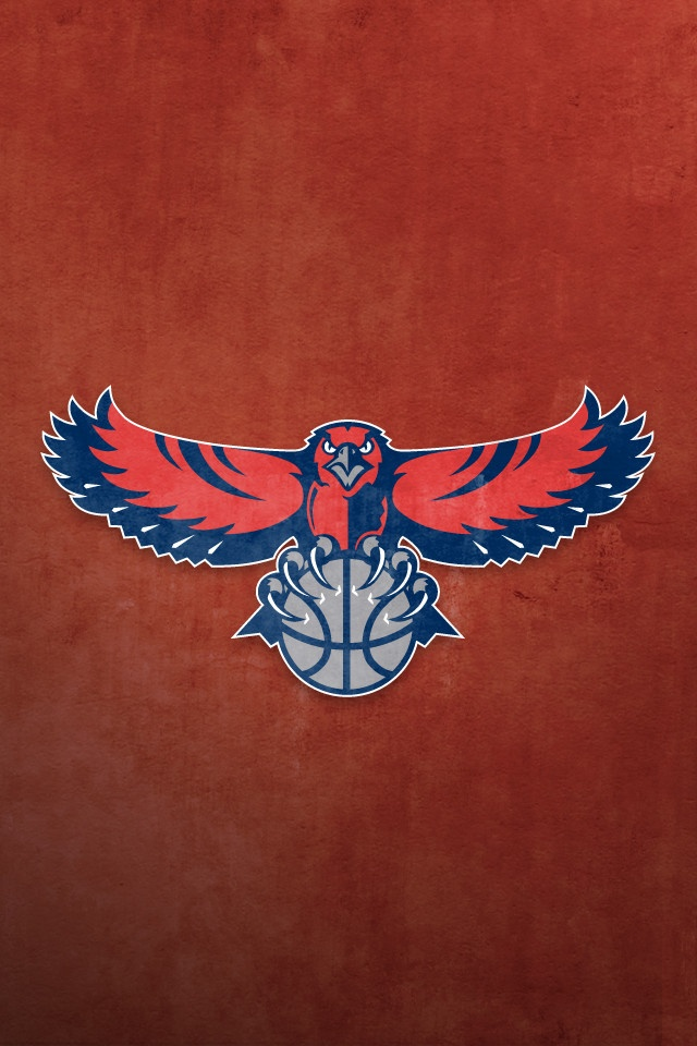 Iphone Wallpapers Seasson 2014 2015 Basketball Team Atlanta Hawks 640x960