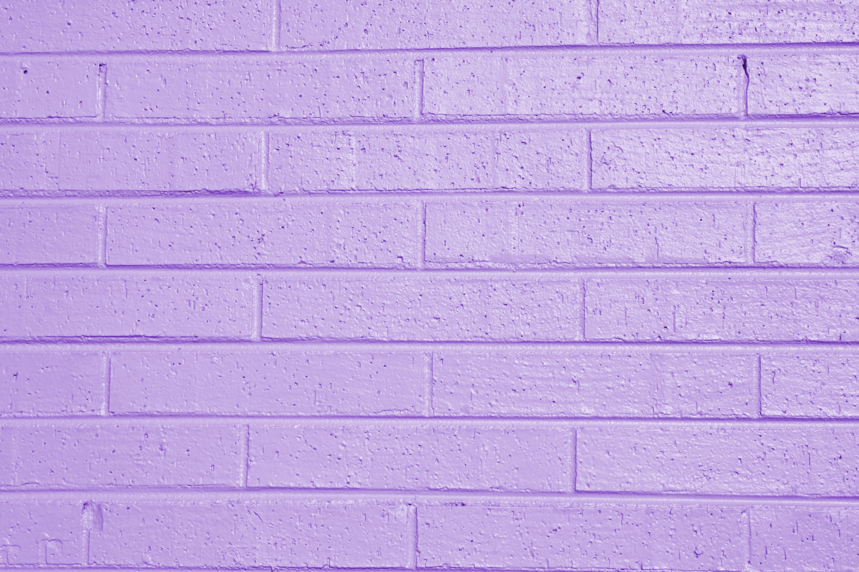 Lilac or Lavender Painted Brick Wall Texture Picture Photograph 3000x2000