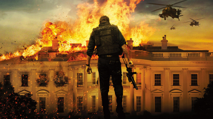 Olympus Has Fallen White House Down HD wallpapers   Olympus Has Fallen 728x409