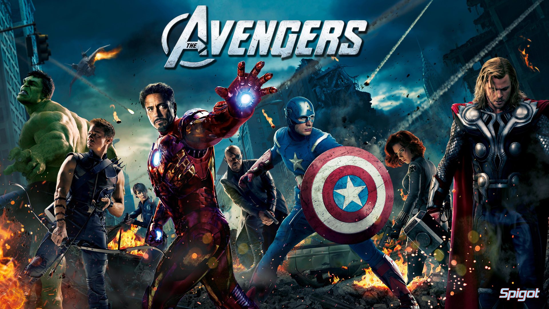 The Avengers Wallpaper Desktop 1920x1080