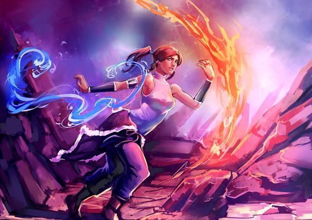 Avatar Korra Legend of Korra Fire Water Bender HD Wallpaper Desktop PC 640x452
