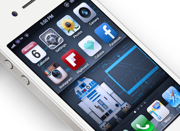 50+] R2D2 Wallpaper iPhone 6 on WallpaperSafari