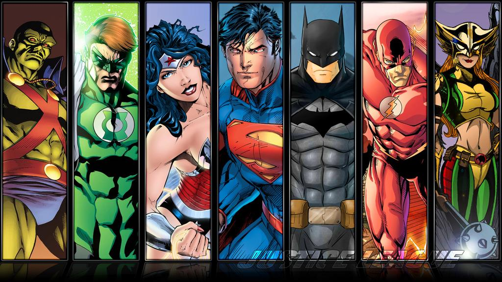 Justice League Compilation Wallpaper by Etherial007 1024x576